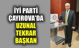 İYİ Parti Çayırova'da Uzunal tekrar başkan