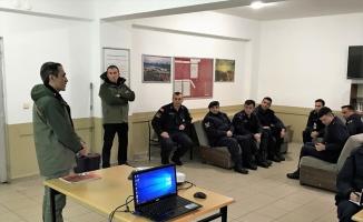 Jandarma personeline Kara Avcılığı Kanunu ve biyokaçakçılık eğitimi