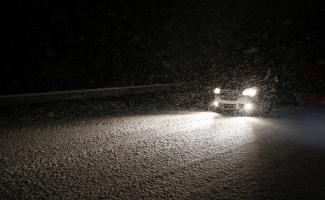 Kırklareli'de yoğun kar etkili oluyor