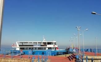 Kocaeli'de deniz ulaşımına sis engeli