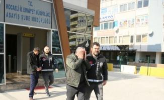Kocaeli'de triko ipliği yüklü tır hırsızlığının 4 şüphelisi yakalandı