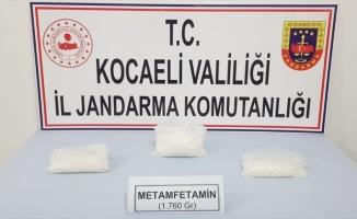 Kocaeli'de uyuşturucu operasyonunda 2 şüpheli yakalandı