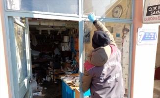 Malkara'da tesisatçı dükkanından 20 bin liralık malzeme çalındığı iddia edildi