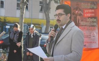 Manyas'ta İdlib için yardım kampanyası başlatıldı