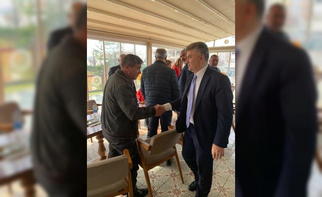 Milletvekili Mustafa Canbey, Karesi'de muhtarlarla bir araya geldi
