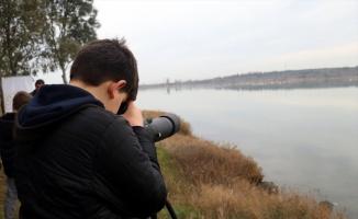 Öğrenciler Hersek Lagünü'nde kuş gözlem etkinliği gerçekleştirdi