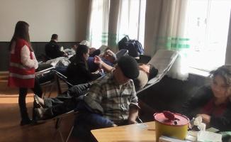 Pazaryeri'nde kan bağışı kampanyası