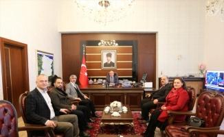 Sakarya Valisi Nayir'e ziyaret