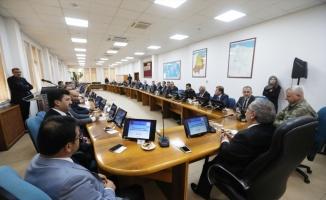 Sakarya'da genişletilmiş asayiş toplantısı, Vali Nayir başkanlığında yapıldı