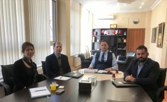 TCMB İstanbul Bölge Koordinatörü Yılmaz, KTSO'yu ziyaret etti