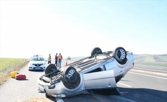 Tekirdağ'da otomobil devrildi: 6 yaralı
