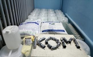 Tekirdağ'da sahte 2 bin 105 litre etil alkol ele geçirildi