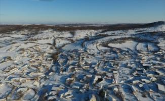 Trakya'da kar yağışı hayatı olumsuz etkiliyor
