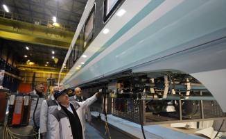 TÜVASAŞ yerli ve milli 56 elektrikli tren seti üretecek