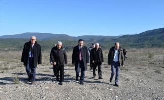 Vali Şentürk'ten Osmaneli OSB ve tarihi konaklarda inceleme