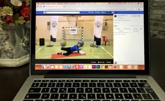 'Hayatı eve sığdıranlara' online pilates eğitimi veriliyor