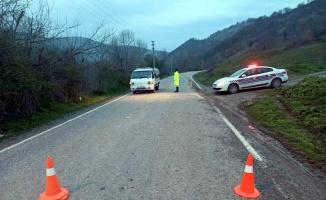 Kocaeli'den, İznik'e bağlanan yollar kapatıldı