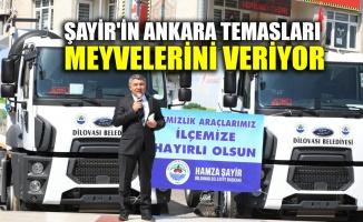 Şayir'in Ankara temasları meyvelerini veriyor