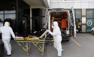 Hasta Nakil Ambulansları 10 bin 700 vatandaşa hizmet verdi