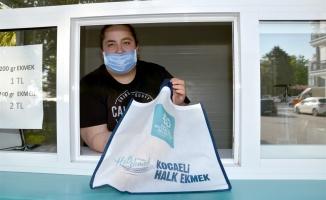 Karamürsel'de halk ekmek satışları başladı