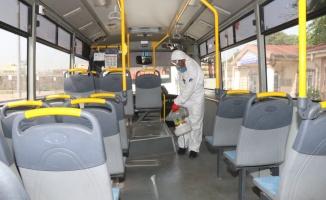 Salgın sürecinde 10 milyon metrekare alan dezenfekte edildi