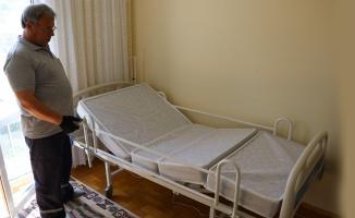 Yatalak hastalara otomatik hasta karyolası