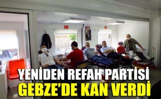 Yeniden Refah Partisi Gebze'de kan verdi