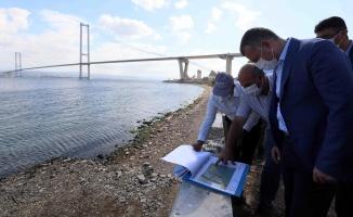 Başkan Büyükakın, sahil düzenlemesini yerinde inceledi