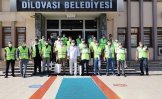 Başkan Şayir'den 16 bin haneye maske