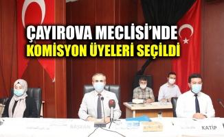 Çayırova Meclisi'nde komisyon üyeleri seçildi