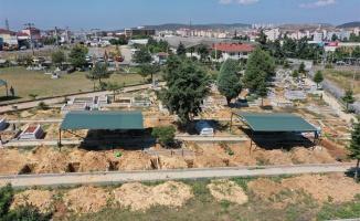 Çayırova'da seyyar defin çadırı hizmeti