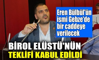 Eren Bülbül'ün ismi Gebze'de bir caddeye verilecek