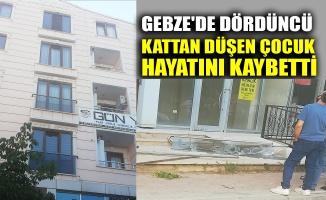 Gebze'de dördüncü kattan düşen çocuk hayatını kaybetti