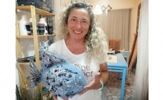 İtalya'dan gelip atölye açan seramik sanatçısı kültür elçisioldu