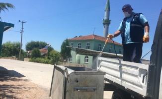 İzmit'in köylerinde dezenfekte işlemidevam ediyor