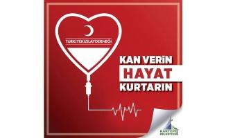 Kartepe Belediyesi'den kan bağışı çağrısı