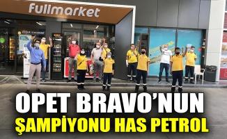 OPET Bravo'nun şampiyonu Has Petrol