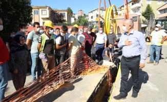 Yavuz Selim'de doğalgaz sevinci