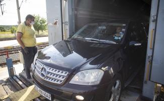 Yılın ilk arabalı treniKapıkule'den giriş yaptı