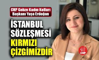 Erdoğan: İstanbul Sözleşmesi kırmızı çizgimizdir