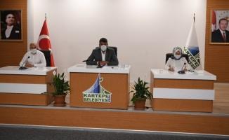 Kartepe Belediyesi Ağustos ayı meclis toplantısı yapıldı