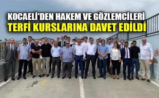 Kocaeli'den Hakem ve Gözlemcileri terfi kurslarına davet edildi