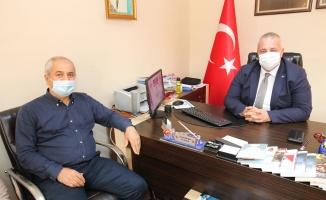 Başkan Büyükgöz'den MHP'ye hayırlı olsun ziyareti