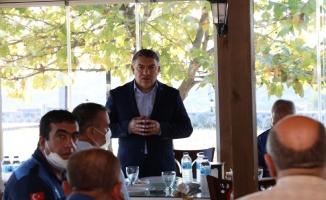 Başkan Şayir, zabıta personelini ağırladı