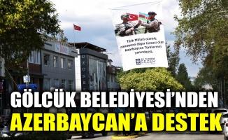 Gölcük Belediyesi'nden, Azerbaycan'a destek