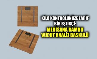 Kilo kontrolünüze zarif bir eşlikçi: Medisana Bambu Vücut Analiz Baskülü