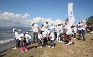 Kocaeli'de deniz ve plaj temizliği yapıldı
