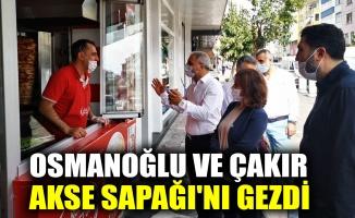 Osmanoğlu ve Çakır, Akse Sapağı'nı gezdi