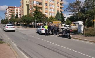 Gebze'de kamyonetin çarptığı kadın yaralandı