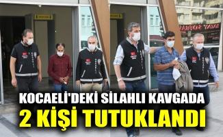 Kocaeli'deki silahlı kavgada 2 tutuklama